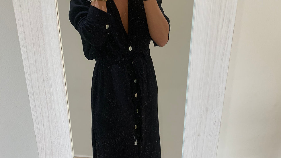 vestido camisero bambula