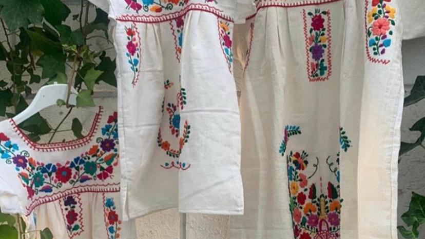 vestidos mexicanos Madre e Hija