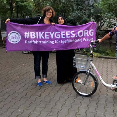 BIKEYGEES Berlin - Radeln bedeutet Freiheit September 2017