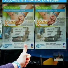 336,40€ an KAMA Dresden April 2017