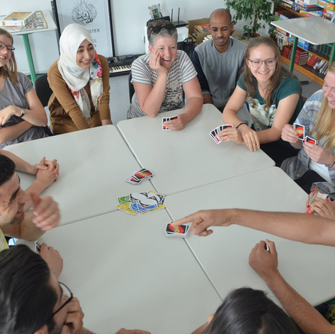 Partnerförderung für an.ge.kommen in Gießen Mai 2018