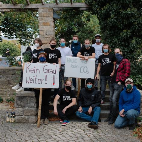 FFF Demo in Göttingen September 2020