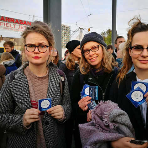 Demonstration in Dresden Oktober 2016