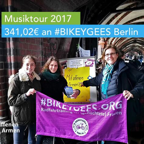 341,02€ an #BIKEYGEES April 2017