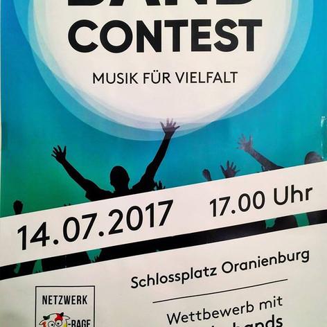 Bandcontest Oranienburg 14.07. - Begegnungsfest Hohen Neuendorf am 15.07.