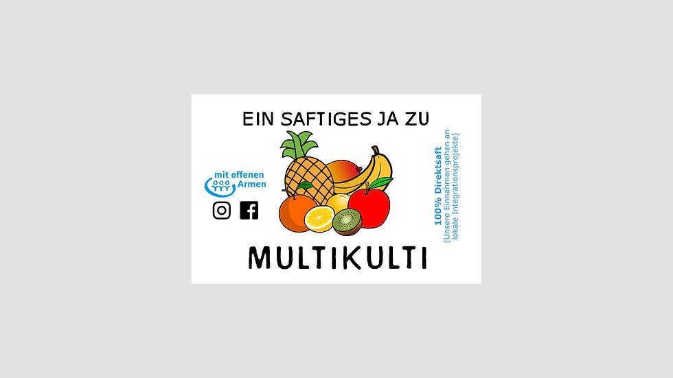 """Sticker """"MULTIcultural"""""""