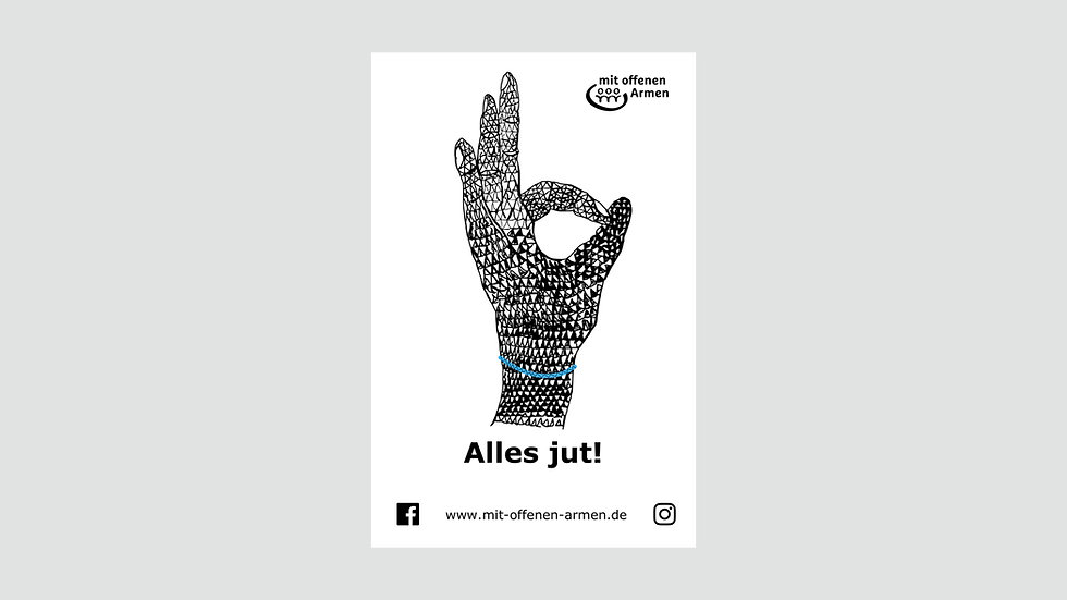 "Sticker ""Alles jut!"""