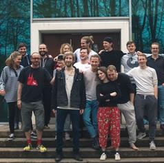 Teamwochenende Porta Westfalica April 2018