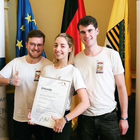 """Preisverleihung """"Aktiv für Demokratie und Toleranz"""" 2018"""