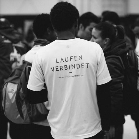 Unterstützung der Refugee-Lauftreffs für neue Leibchen in Höhe von 250€ Dezember 2016