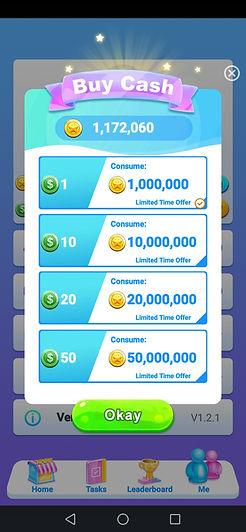 lucky winner app tokens