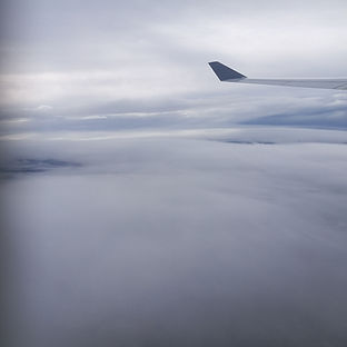 clouds from airplane