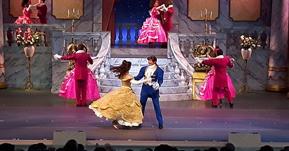 beauty and the beast show in disneyland orlando