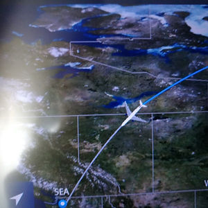 delta airlines map