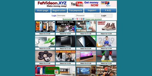 Earn money by watching YouTube Videos by fetvideon xyn. Is Fetvideon.xyn legit or scam? Money making website real proof