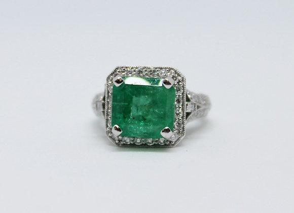 Emerald Ring Design