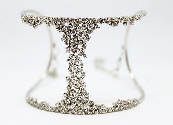 Diamond Bangle Modern Design