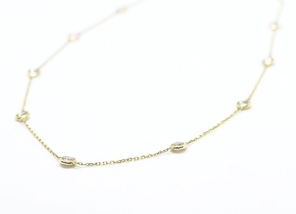 Diamond by The Yard Yellow Gold Necklace