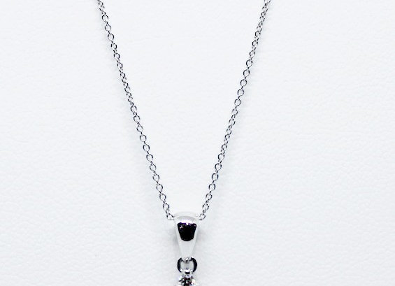Diamond Drop Necklace