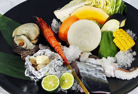 海鮮BBQセット 1980円