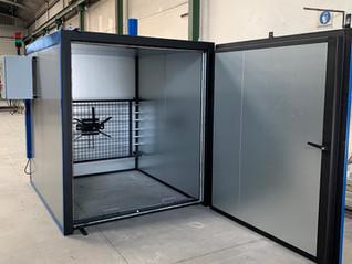 Estufa eléctrica de secado para una temperatura de 250ºC