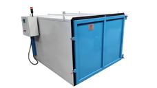 Horno eléctrico para dilatación de piezas de gran formato para una temperatura de 300ºC