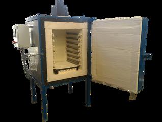 Horno eléctrico con una capacidad de 210Litros, para temple y revenido