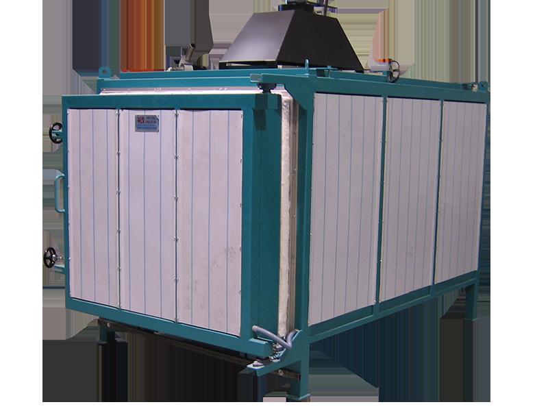 Horno industrial para tratamientos térmicos