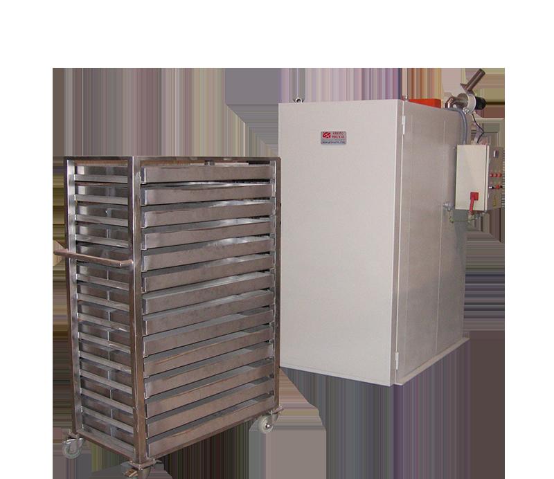 Secadero para tratamientos térmicos