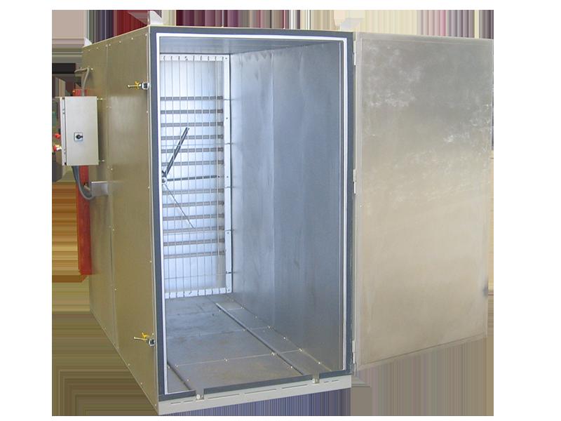 Estufa electrica para tratamientos secadero industrial