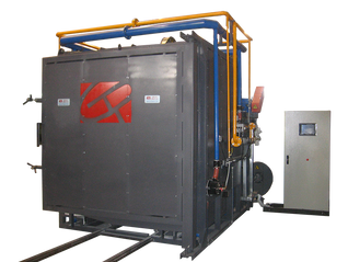 Horno a gas para tratamientos cerámicos 1500°C