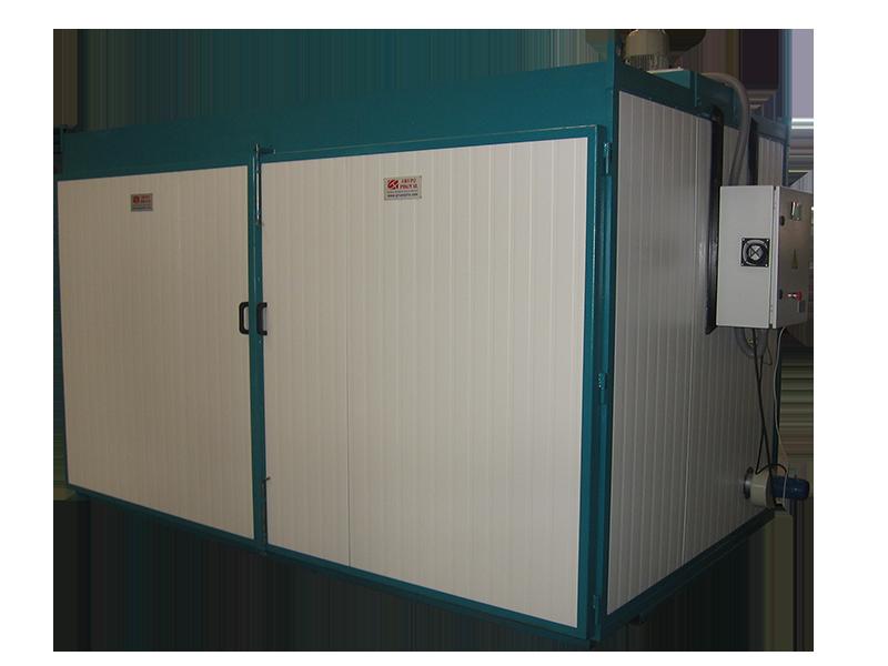 Cámara de cocido, horno eléctrico con circuito de potencia regulable
