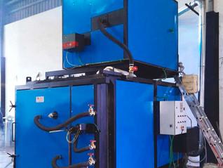 Incinerador de productos varios a gasóleo con oxidador térmico