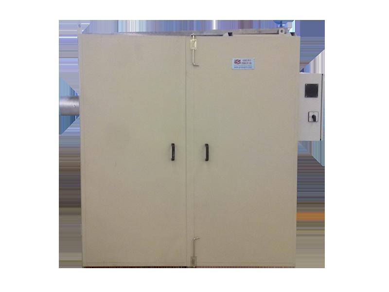 cámara de cocido con circuito de potencia regulable