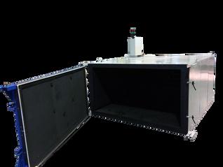 Horno eléctrico de convección para dilatación de piezas de hasta 1.000 kg y con una temperatura de 3