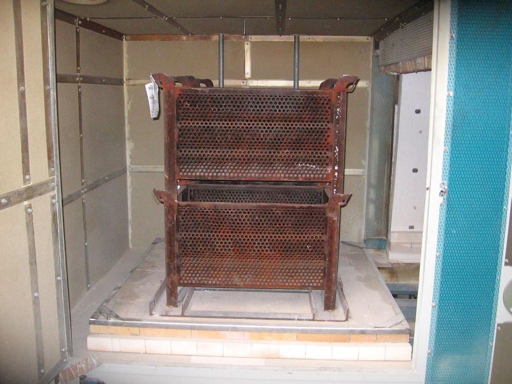 Horno para tratamientos zinc - zincado horno zinc
