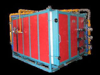 Horno gas Jet para tratamientos térmicos