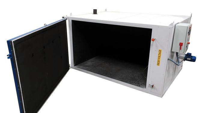 Horno eléctrico para tratamientos térmicos