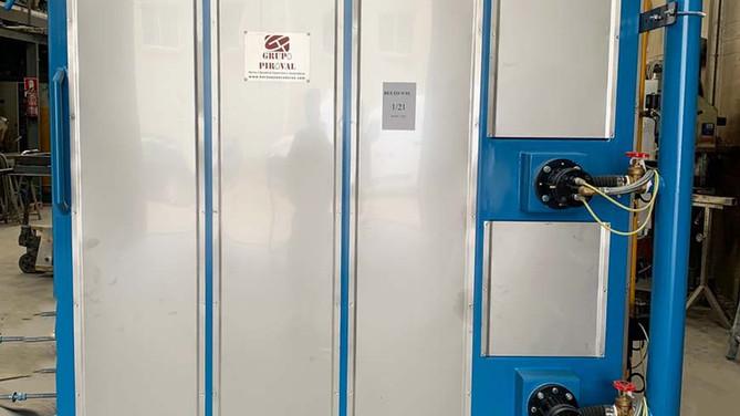 Horno a gas destinado a la cocción de materiales cerámicos