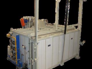 Horno a gas automático con incinerador y recuperador de calor