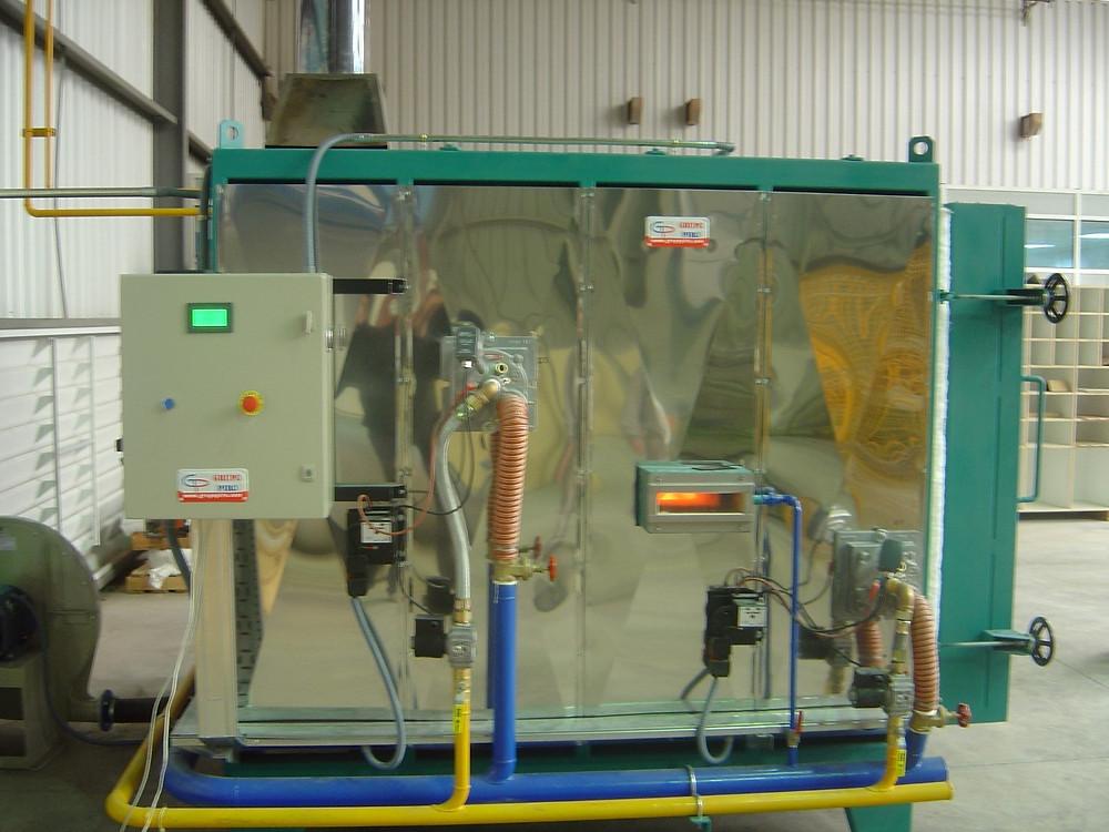 Horno a gas para ciclos cortos 1350°C