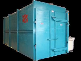 Unidad de Reticulado Técnico (U.R.T.) Horno para plástico reticulado de gran capacidad