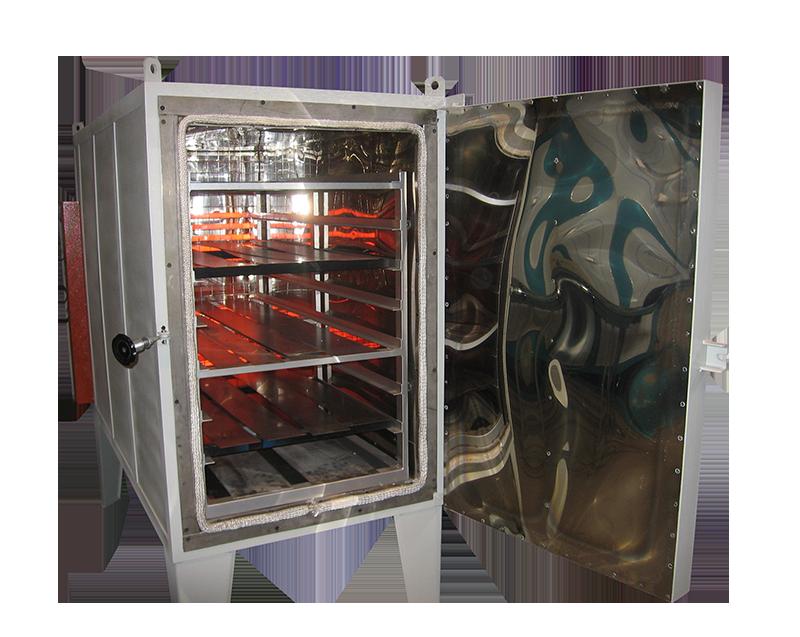 Estufa eléctrica para tratamientos térmicos