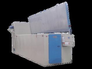 Secadero estático para tratamientos térmicos