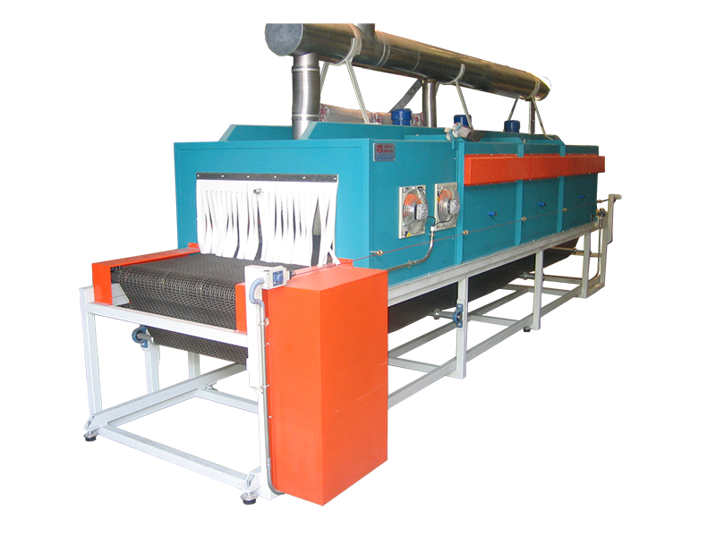 Horno eléctrico de cinta para tratamientos térmicos