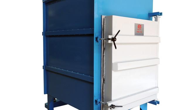 Incinerador para animales a gasóleo con capacidad para 90 Kg