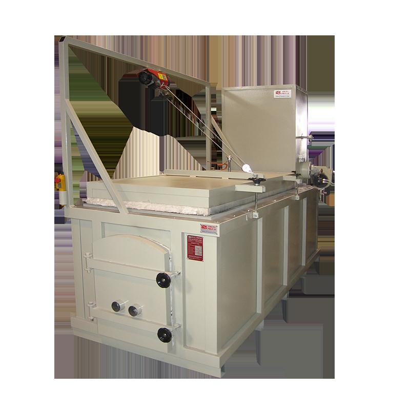 Incinerador de residuos, con cámara de post combustión y chimenea