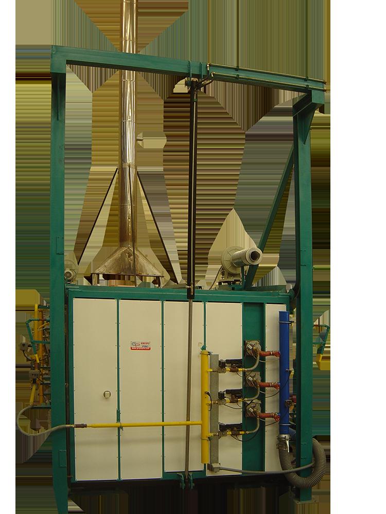 Horno para el tratamiento de óxidos