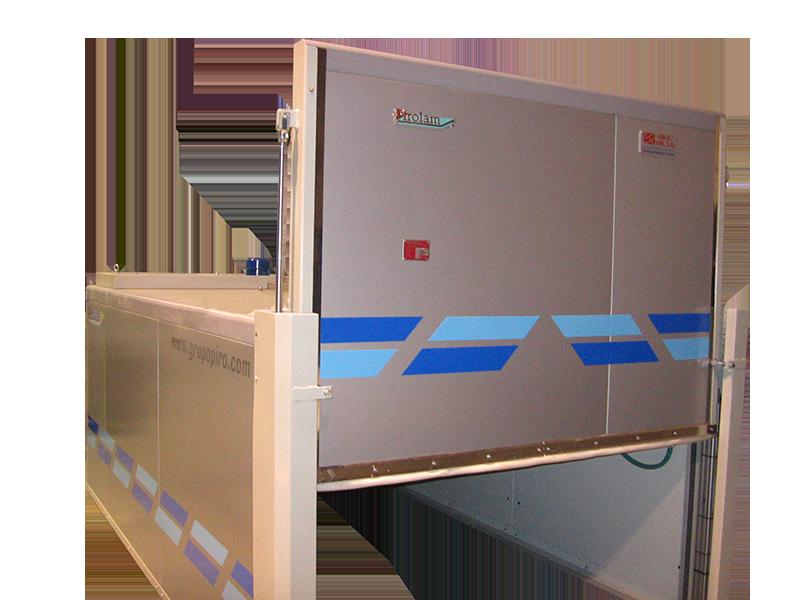 Horno para el tratamiento del vidrio, horno eléctrico para laminar Pirolam EVO