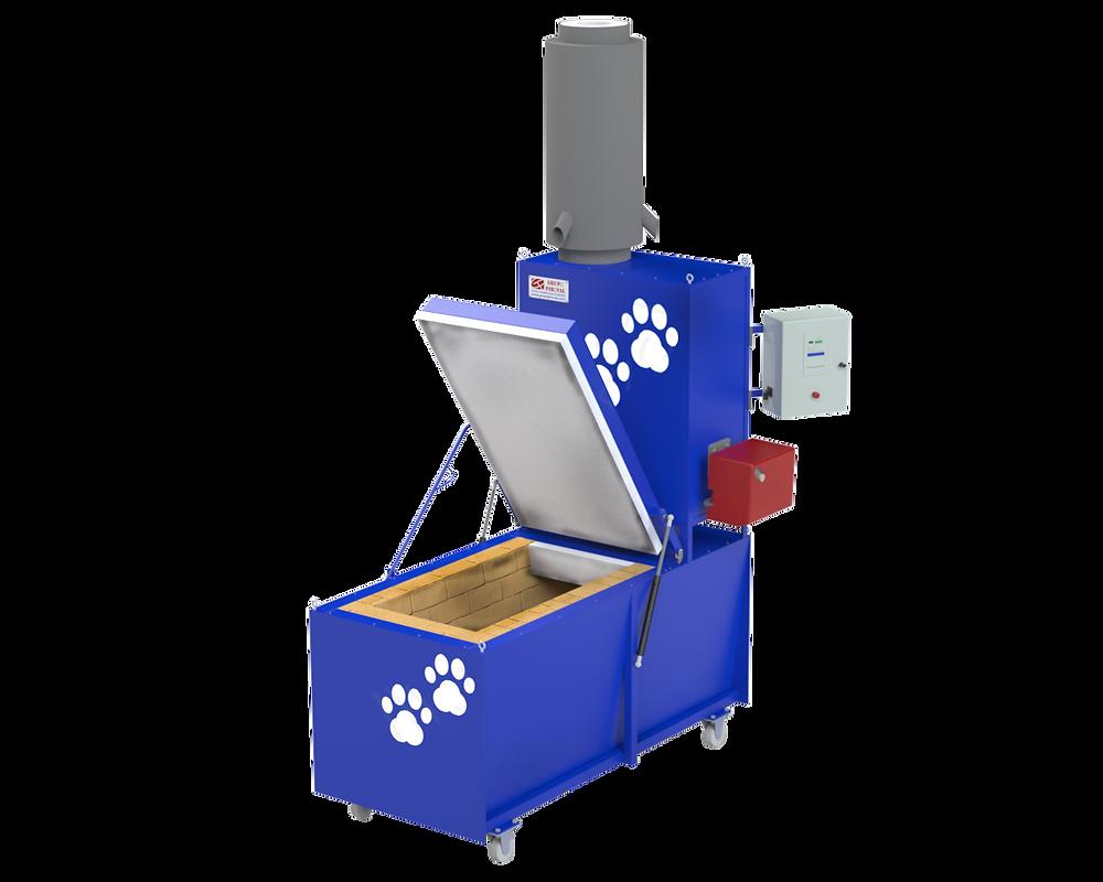 Horno cremación de mascotas